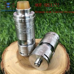 NEWESTCustom Vapor Giant v6 S RTA bottom airflow Single coil Atomizer tank 5.5ML Capacity 23mm 316ss adjustable VS Giant M5 vape