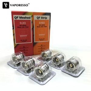 3pcs Original  QF Strips 0.2ohm QF Meshed 0.15ohm Coil Vape Atomizer Core For Gen Luxe Revenger Swag Armour Pro Polar