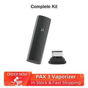 Rectangle 2-in-1 dry herb Vaporizer Kit Electronic Cigarettes 3500mAh & Vibrating alert herbal vaporizer No Bluetooth VS PAX 3