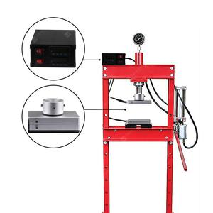 20Ton Rosin Press Heat Aluminum Dual Plates 4x7inch with PID Controller Box for Extracting Machine