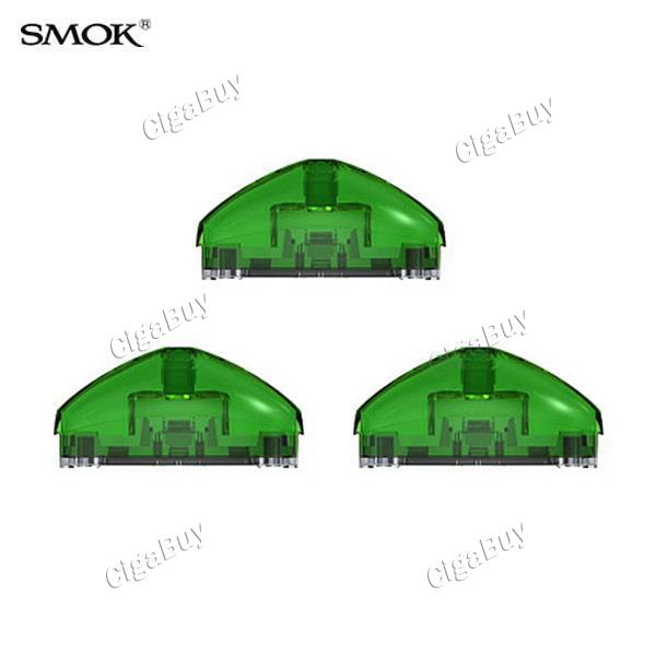 3 x  Smok Pod Cartridge for Rolo Badge - Transparent Green