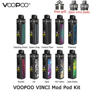 VINCI Pod Kit 1500mAh battery 5.5ml Capacity 0.3ohm PNP Pod 0.96 inch TFT Color Screen Electronic Cigarette Vape Pod Kit
