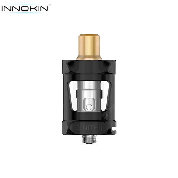 Zenith II Tank Atomizer 5.5ml Capacity with Z Coil Series Bottom Airflow System Top Filling Support MTL/DL Vape E-cigarette