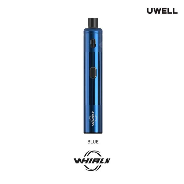 Whirl S Starter Kit 18w Built-in 1480mah Battery 2ml Cartridge Top Filling System RDL&MTL Vaping with 0.8ohm Mesh Coil