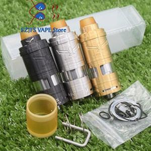 e cigarette Vapor Giant v6S 23/25mm RTA 6ML Capacity 316ss adjustable bottom airflow Single coil Atomizer apocalypse rda Vaper