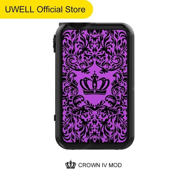 UWELL CROWN 4 MOD MAX Output 200W with 5ml Tank Atomizer Latest SS904 TC BOX Vape MOD for CROWN 4 Kit