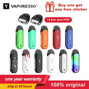 Renova Zero Vape Pod electronic cigarette kit 2ML Tank 650mAh Built-in Battery Starter Vaper kit  Zero Pod