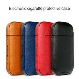 Portable Anti-fall PU Leather Protective Cover Case Bag Carrying Pouch for IQOS 2.4 Plus Electronic Cigarette Vape Accessories