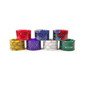 Colorful / Snake Skin Resin Cobra Drip Tip Mouthpiece for  TFV16 Tank Atomizer