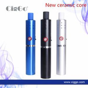 2017 Newest Original FyHit ECO 2S dry herb Vaporizer 2200mah 6 temperature Control with airflow hole e cigarette Kit