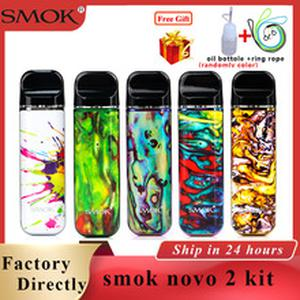 Original Pod Vape  novo 2 pod kit 2ml & 800mAh battery Electronic cigarette Vape Pod upgraded version vs smok novo/smok nord