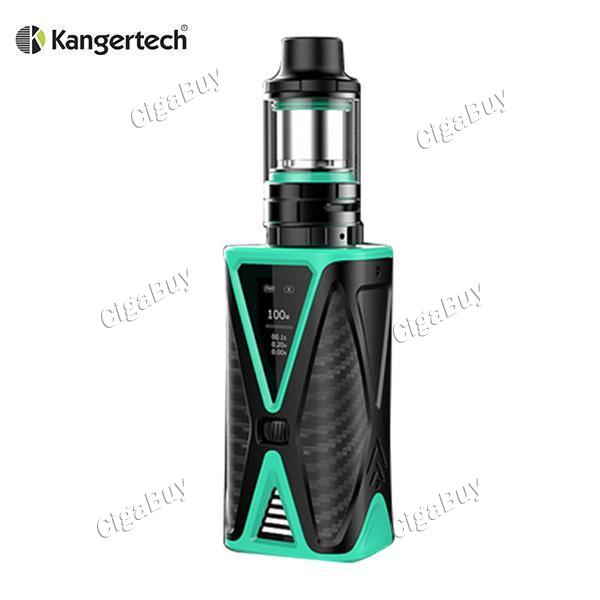 Kanger Spider 200W with FIVE 6 Mini TC Kit - Teal