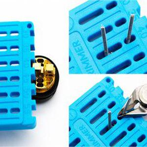 Coil Trimming Cutting Tool For RDA DIY Vape Wire Coil Ruler Trimmer Building Electronic Cigarette Vape Accessories