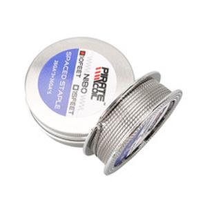 10Feet/roll Ni80 Spaced Staple clapton Heating Wires For RDA RTA Atomizer Coils DIY Tool Vape Pen Accessory Wire
