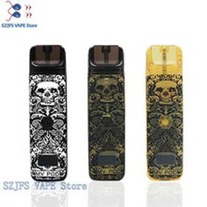 e cigarette MV Built-in smoke pod kit 400mAh battery tank 2ML capacity ABS + PC material adjustable vape pen Renova Zero Pod kit