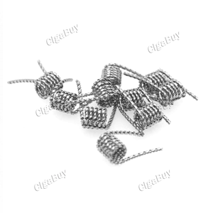10 x SEA WOLF SS316L Tiger Premade Coil Wire 0.40ohm