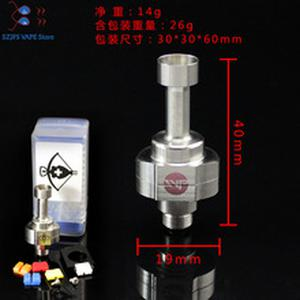 e cigarette rda SXK SVT CROSSBOW RBA MTL modular AFC in PC-ABS 1.2mm air inlet hole airflow tobacco 19mm Atomizer vs gtr kayfun