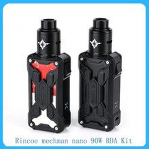 Original Rincoe mechman nano 90W RDA Kit Powered By 18650 Battery with 810 Pom drip tip E-cig vape Kit