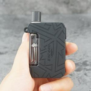 1pcs Protective silicone case for  Exceed Grip Pod Mod Vape kit texture skin rubber sleeve cover fit joyetech exceedgrip