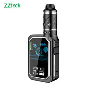 ZZtech Multifunction Electronic Cigarette X24 DWT-220  kit Vape 4600mAh 220W 4dual coil 3ml Tank 510 Thread Vaporizer