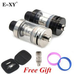 E-XY Replacement Coil 22mm Tank Atomizer  0.5ohm Atomizer Tank with spare 0.3ohm coil Gift  2.5ML Capacity 510 Thread