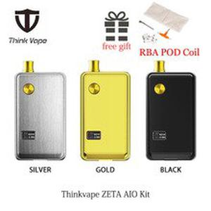 Think Vape ZETA AIO 60W Pod Kit powered by single 18650 battery 60W Output 510 3ml tank Atomizer RBA DTL MTL coil VS Pasito