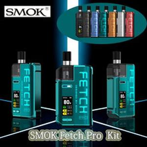Fetch Pro Pod Kit 80W with 4.3ML Pod 4ML RGC Cartridge RPM Mesh RGC Conical Mesh Coil 80W Fetch Pro Vape kit 18650 battery