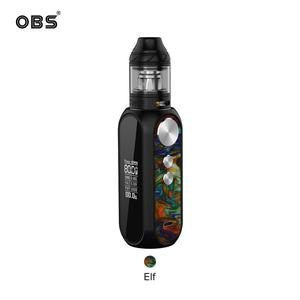 Cube 80W Kit 4ml Tank M1 Mesh Coil OLED Screen Electronic Cigarette Starter Mod Kit
