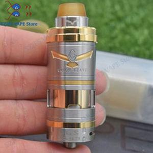 HOT Vapor Giant V6S RTA 6ml/7ml 23/25mm 316ss adjustable Single Coil Top Filling Bottom Airflow system E-cig Vape Tank Vaporizer
