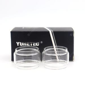 YUHETEC Original Replacement Bulb Glass Tube for  Engine 2 RTA 2PCS