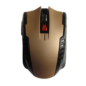 Notebook desktop computer 2.4G wireless mouse - Luxury gold color