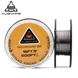Ni80 Coil Electronic Cigarette Heating Wire For RDA RTA Atomizer For DIY Prebuilt Coil Nichrome Wires 15 feet/roll