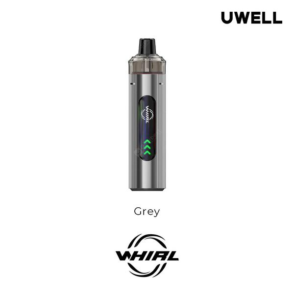 Whirl T1 Kit Built-in 1300mAh Battery 14-16W Adjustable Output with 3ml Pod UN2 Meshed-H 0.75ohm Refilled Cartridge Coil Not-Replaceable Vape