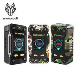 Electronic Cigarette Original SNOWWOLF Xfeng 10W-230W TC Vape  1.3 inch TFT Display and Tread 510  Ecig No Battery