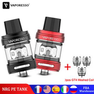 Original  Atomizer NRG PE Tank 3.5ml with GT 4 Meshed Coil Core For SWAG 2 LUXE GEN Mod Vape Electronic Cigarette Kit
