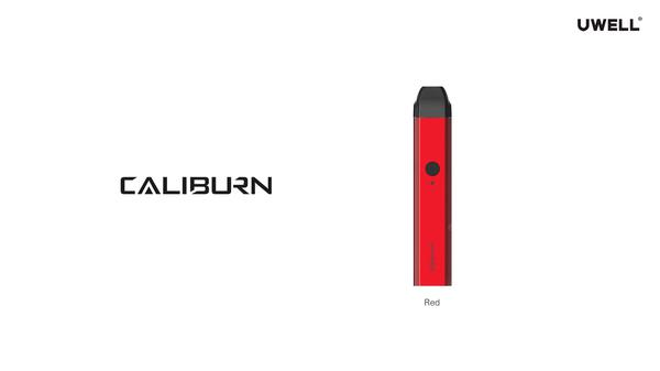 UWELL CALIBURN Portable System Kit 520 mAh built-in battery Electronic Cigarette with Mini 2ml Juice Cartidge Directly vape
