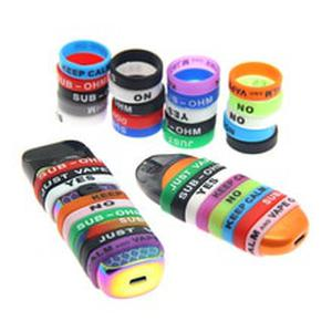 20pcs/lot Vape Band Silicone Rubber Ring Protection Decoration Electronic Cigarette Accessories for Zero Nord Pod Atomizer Mod