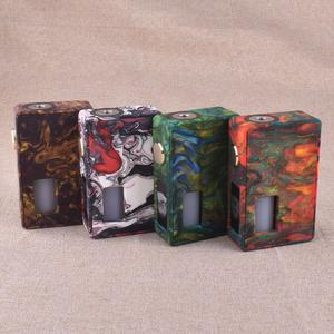 VBS Iron Surface   18650/20700 Squonk Resin Mechanical  Mod w/ 7.0ml Bottle - Red