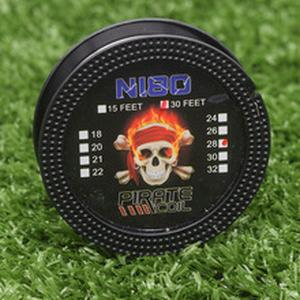 PIRATE COIL New 10m/roll Cigarette Nichrome Heating Wires for Ni80 Heating Wires for Rebuildable Atomizers