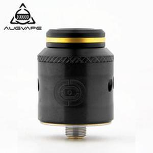 OCCULA RDA Atomizer 5ml 24mm Secured via Big M3 Scews Single and Dual Coil Airflow Domed Top Cap Vape Tank RDA