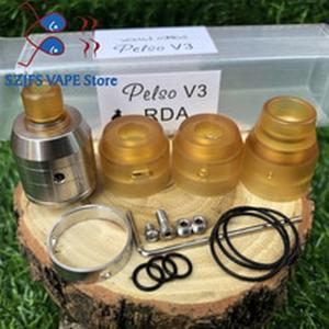 Pelso V3 rda Rebuildable Drops Atomizer Top 22mm 316 stainless steel Adjustable Air Flow tank For 510 thread Vaporizer vape mods