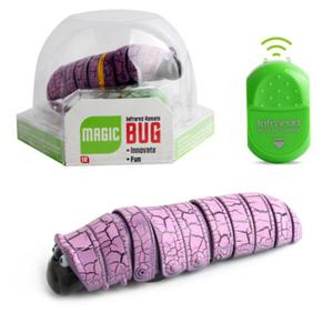 Remote control worm insect infrared reptile insect - Purple
