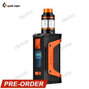GeekVape Aegis Legend 200W TC Kit - Black Orange