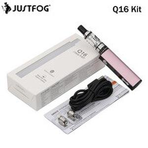 Electronic Cigarette JUSTFOG Q16 Kit 900mAh and 1.9ml Q16 Clearomizer With Justfog Q16 Coil vs P16A Vape Pen