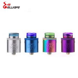 Original  Drop Dead RDA 24mm diameter 14 airflow holes rda atomizer for aegis mod vs dead rabbit rda