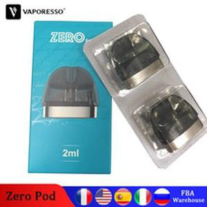 Original  Renova Zero Pod with 2ml Capacity 1.0ohm Coil Head E-cig Tank For Vape Electronic Cigarette zero kit pod