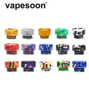 Colorful Resin 810 Drip Tip for 810 Atomizer e-Cigarette Vape Vaporizer Ello Duro TFV12 Prince TFV16 Lite Tank etc