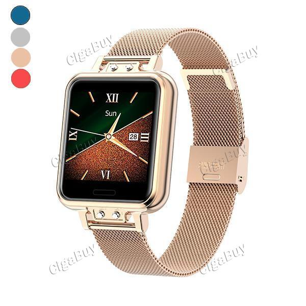 ZL13 Smart Watch Women Stainless Steel Color screen Smartwatch with Heart Rate