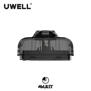 UWELL Official store Amulet Pod With 2 PCS 1.6ohm Cartridges 2 ml Capacity E Cigarette Vape Pod for Amulet Pod System
