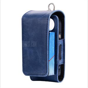 Crazy Horse Pattern Up and Down fo Iqos Leather Case Electronic Cigarette Case
